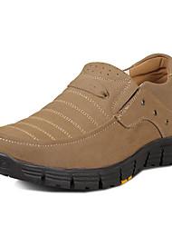 мужские замшевые клин пятки бездельников обувь