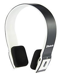 auscultadores Bluetooth 3.0 sobre mãos livres estéreo ouvido com cancelamento de ruído para Samsung / telefones / tablet
