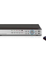 16 canali H.264 CCTV Video Audio Recorder DVR di sorveglianza di sicurezza