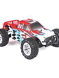 1/10 Scale Nitro Monstro / Stadium Truck RC Single Speed ​​(Red & White)