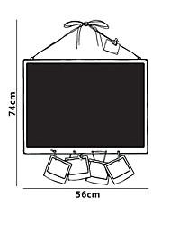 Blackboard adesivos de parede, removível, Photo Frame Estilo