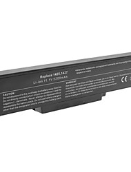 5200mAh Laptop Battery for Dell Inspiron 1425 Inspiron 1427 Black