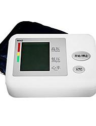 Braço Sphygmomanometer eletrônico automático de alta precisão Lcd