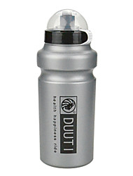 Cycling 500ML Silver Grey HDPE Sport Water Bottle