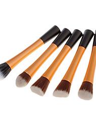 5in1 Nylon Powder Brush(Gold)