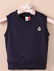 Boy's Simple School Style Vest