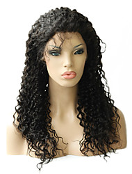 20inch Super Kinky Curly Peruvian Remy Hair Full Lace Wig