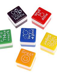 Plastic Cute English Seals (Random Color)