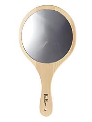 Деревянная ручка круглой формы Зеркало
