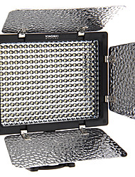 YONGUNO YN300 18W 2280LM 5500K 300-LED Speedlite / photoflood Lamp / Fotografie Armatuur (Zwart)