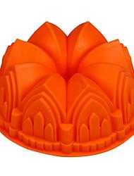 Castel Shape Cake Baking Pans, Silicone(Color Randoms)