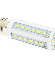 E27 8W 42x5730SMD 6000K Cool White Light LED Corn Bulb (220V)
