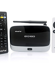 IdeaStar BX09 Quad-Core Android 4.2.2 Mini PC Google TV Player 2 GB di RAM 8GB di ROM RC9 Air Mouse
