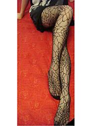 Charming Girl Black Stripe Women's Stockings for Uniform