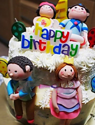 """2 """"H Ballon Vorm Kaars van de verjaardag"""