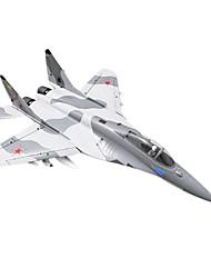 Lan Xiang Mig-29 12CH 70mm EDF RC JET plan ARF (Gris Camo)