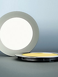 LED Panel Light, 60 lichte, moderne Ultradunne Ronde Aluminium PC Casting