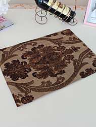 "Caffè Placemat, Polyester 16 ""* 13"""