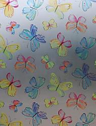 Fantaisie chromatique classique Papillons Window Film