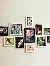 Einfache Foto-Wand-Frame Collection - Satz von 11
