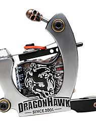 Dragonhawk Tattoo Machine premium Ferro 10 envoltório shader