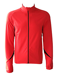 JAGGAD - Cycling Fleece Long Sleeve Red+Black Bicycle/Bike Jersey