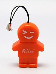 Cartoon Shape USB 2.0 T-Flash /Micro SD Card Reader