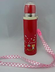 Mode Portable 200ml vide rouge Thermo Conteneur pour les enfants