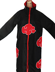 Inspired by Naruto Akatsuki Anime Cosplay Costumes Cosplay Suits Print Long Sleeve Cloak For Male