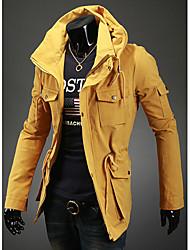 Men's Casual Double Collar Coat