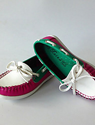 Children's Contrast Color Vintage Boat Shoes