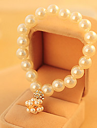 Dumoo Sweet Ball Shape Pendant Pearl Bracelet(Random delivery&Just Only One)