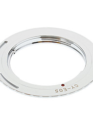 CY-EOS Camera Lens Adapter Ring (Argent)