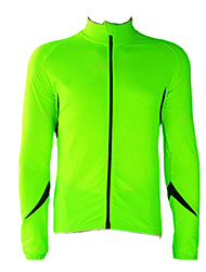 JAGGAD Cycling Tops / Jerseys / Jacket Men's BikeBreathable / Wearable / Windproof / Thermal / Warm / Fleece Lining / Reflective