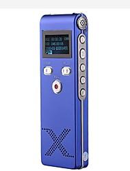 Новый профессиональный цифровой диктофон Диктофон MP3-плеер 4G Голубой