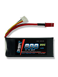 DLG 11.1V 800mAh 3S 20C Lipo Battery