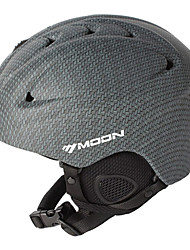 MOON Unsiex Gray Herfst / Winter ABS Ski / Snowboard Helm