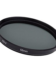 58mm Neutral Density  ND4 Filter