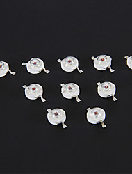 Chip 1W 70LM Red Light LED (2.2-2.4V, 10 pc)