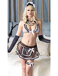Estilo Bikini Hot Girl Carnival Party Maid Uniform