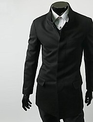 ZHELINMen Chino Túnica Suit Blazer Suit Collar simple
