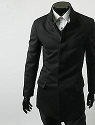 ZHELINMen Китая Туника костюм Блейзер Простой Воротник костюм