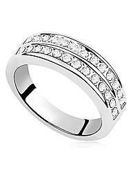 Xingzi Basic Style Austria Crystal 9344 Ring