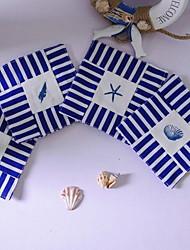 Tema da praia Tecidos Coaster - conjunto de 4 peças