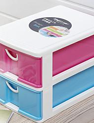 Mode Big 2 couches Cabinet de rangement en plastique