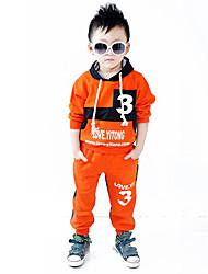 """""""3"""" План мальчика с длинными рукавами Одежда Набор"""