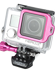 GoPro Aluminum Pink LANYARD RING Mount with Hidden Screw Design for 3 Plus / 3+