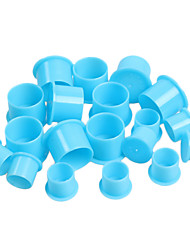 100 Pieces Tattoo Ink Cups