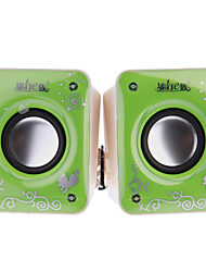 Popular High Quality 2.0 Mini Digital Computer Speaker (A5,1 Pair)
