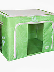 Simple Style 55L Green 2 Doors Storage Box